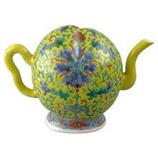 Antique Chinese Porcelain Cadogan Teapot