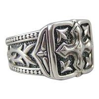 Scott Kay Unkaged Gothic Cross Ring in 925 Sterling Silver