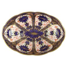 Royal Crown Derby Old Imari 1128 Oval Bowl C1929