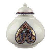 Elizabeth Arden Byzantium Collection Porcelain Love Birds Jar