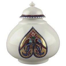 Elizabeth Arden Byzantium Collection Porcelain Love Birds Jar
