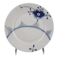 Royal Copenhagen Porcelain Denmark Blue Fluted Mega Plate 22 cm/8.66 in