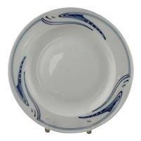 Henry Van de Velde for Meissen Whiplash Pietschenhieb Dinner Plate