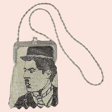 Whiting & Davis Star Series Charlie Chaplin Mesh Handbag