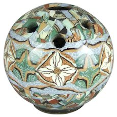 Jean Gerbino Vallauris France Mosaic Pottery Vase
