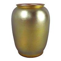 Durand Iridescent Art Glass Vase  Shape 1968