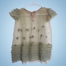 1920s Child's Doll Dress