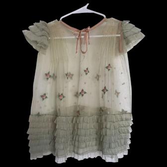 1920s Child's/Doll Dress