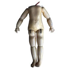 """20""""  Jointed  Jumeau  Doll  Body"""