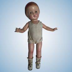 "Vintage  16""  Composition  Doll"
