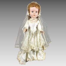 Vintage Bride Doll Sweet Sue Walker by American Character