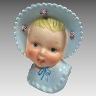 Vintage Head Vase Baby Boy Ucagco