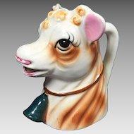 Vintage Cow Creamer Ceramic
