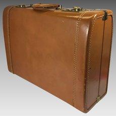 Vintage Leather Suitcase Zephyrlite Brown