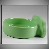 Vintage Green Porcelain Bathroom Cup Tumbler Holder Fixture