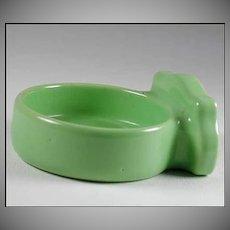 Vintage Green Porcelain Bathroom Cup Tumbler Holder Fixture