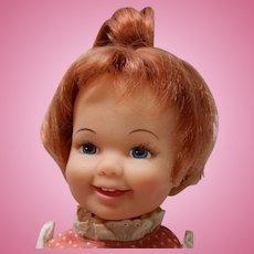Vintage Ideal Cinnamon Doll 1970s Crissy Family Grow Hair