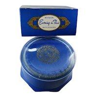 Vintage Bourjois Evening in Paris Bath Powder Sealed 5 Oz. With Box