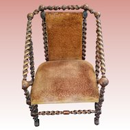 George Hunzinger Rare Antique Arm Chair