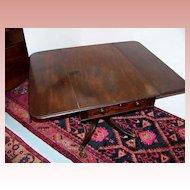 Period Drop-Leaf Mahogany Breakfast Table Ca. 1830