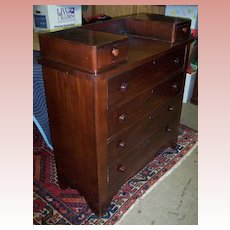 American Empire Mahogany Dresser