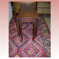 Queen Anne George II Mahogany Drop Leaf table Ca. 1750