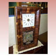 American Waterbury 8 Day weighted Clock