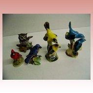 Ceramic Bird Collection