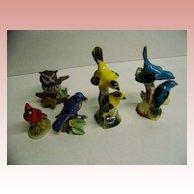 Ceramic Bird Collection