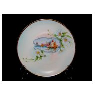 Pickard Hand Painted 'Venice Scene' Plate Artist Signed- A. Comyn