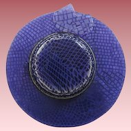 Hat Pin By French Designer Lea Stein