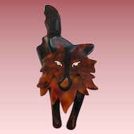 Collie Dog Pin By French Designer Lea Stein