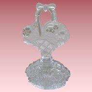 Czechosloviakian Perfume Flower Motif