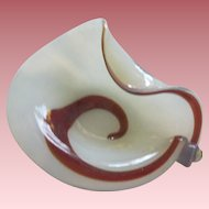 Vintage Murano Glass Bowl Great Form