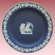 Cobalt Blue Wedgwood Jasperware With Winged Horse