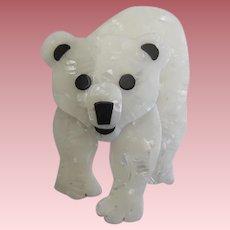 Tom The Polar Bear By French Designer Lea Stein
