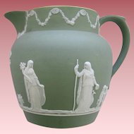 Vintage Wedgwood Jasperware Milk Pitcher