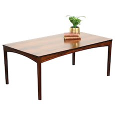Rosewood Midcentury Danish Modern 1960 Vintage Coffee or Cocktail Table