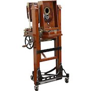 Photography Studio Professional 1900 Antique Camera, Dolly & Lens