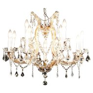 Marie Theresa Austrian Design 13 Candle Crystal Chandelier