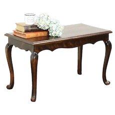 Scandinavian 1930's Vintage Bench or Coffee Table, Oak & Beech