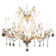 13 Candle Crystal Chandelier Austrian Design