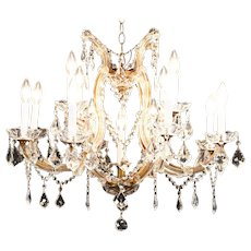 13 Candle Crystal Chandelier Austrian Design