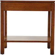 Stickley Signed Cherry Rectangular End or Lamp Table, 2014