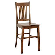 Arts & Crafts Mission Oak Antique 1905 Craftsman Youth Chair