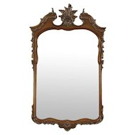 Carved Vintage Wall Mirror, Romweber of Indiana