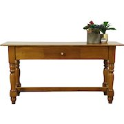 Country Pine Vintage Sideboard, Sofa or Hall Table, TV Console