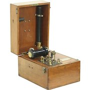 Electro Shock Therapy Antique Medical Machine, Signed London