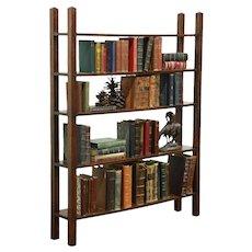 Arts & Crafts Mission Oak Antique Craftsman Library Bookshelf #28709