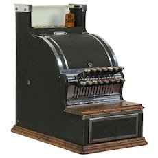Barbershop or Candy Store Antique 1910 Working Cash Register #28958